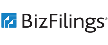 Logo for Bizfilings.com - on small business government