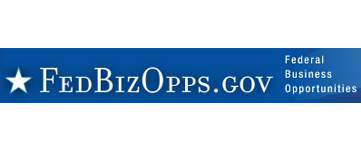 Logo for Federal Biz Opps.Gov - Federal Business Opportunities