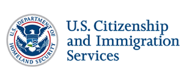 Logo for United States Citizenship and Immigration Services (USCIS)