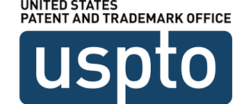 Logo for United States Patent and Trademark Office