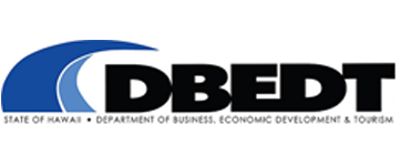 Logo for Department of Business, Economic Development & Tourism