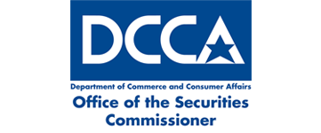 Logo for Department of Commerce and Consumer Affairs