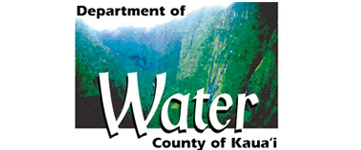 Logo for Department of Water - County of Kauai