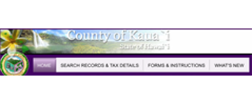 Site logo for County Of Kauai - Real Property Tax